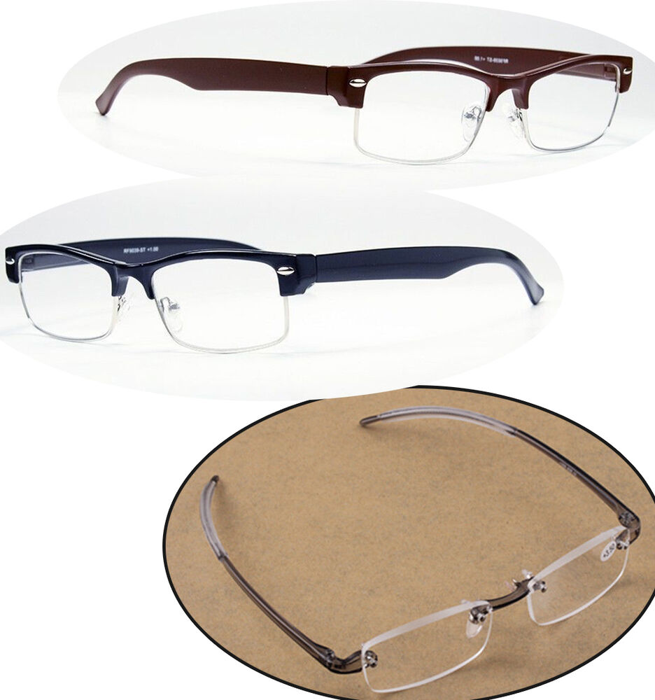 designer lightweight easy optic reading glasses