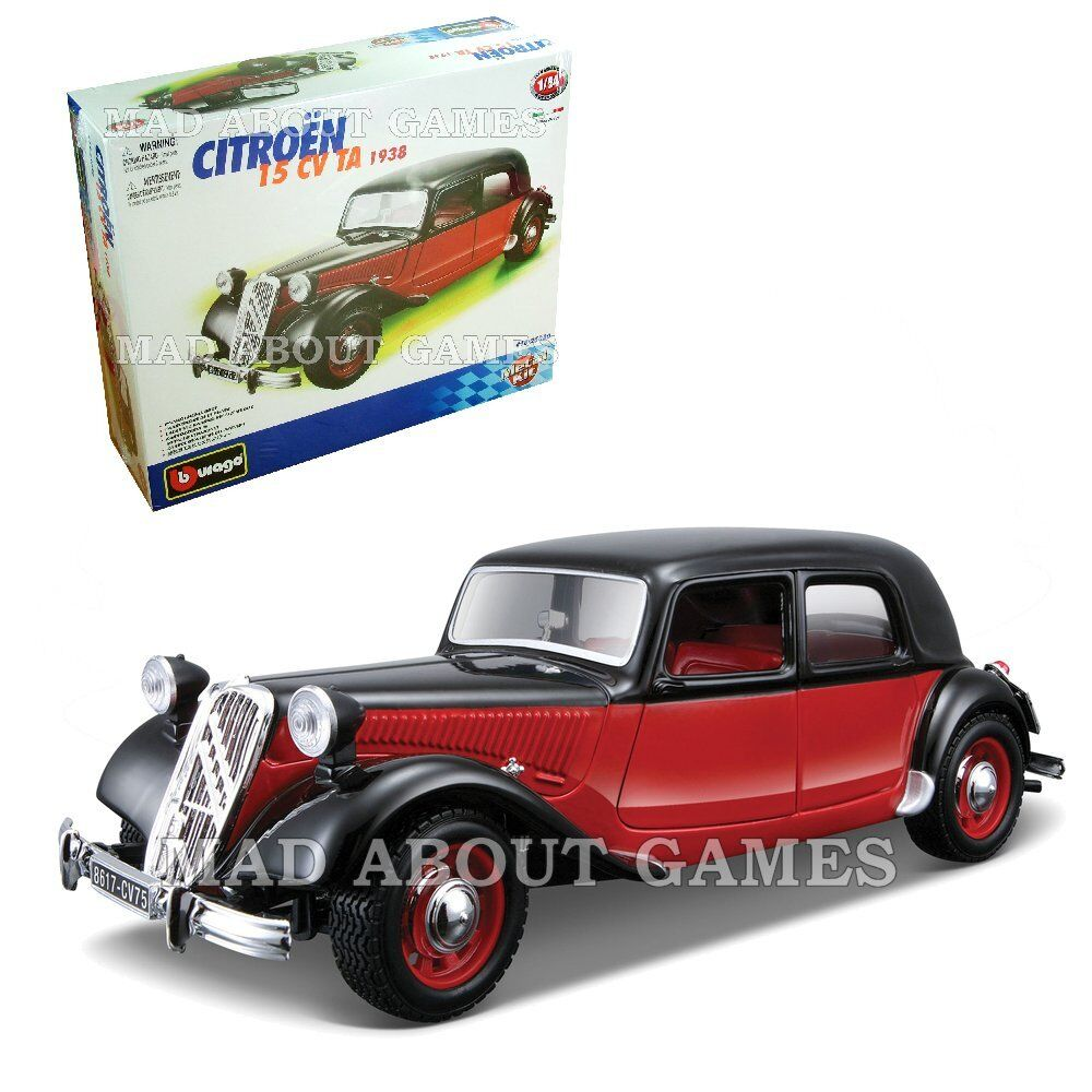 citroen cv 15 1 24 scale model car kit diecast vintage die cast models miniature