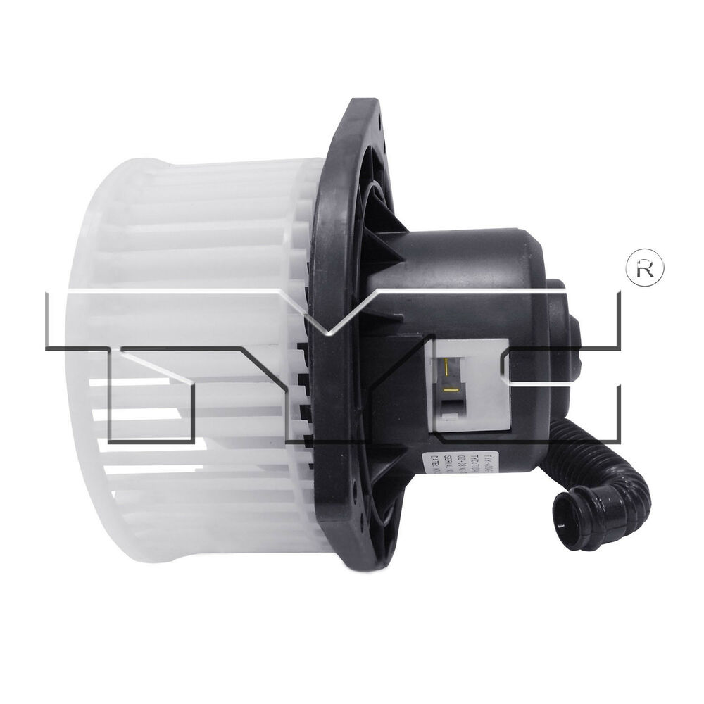 Hvac blower motor ac condenser blower assembly front tyc for Car ac blower motor
