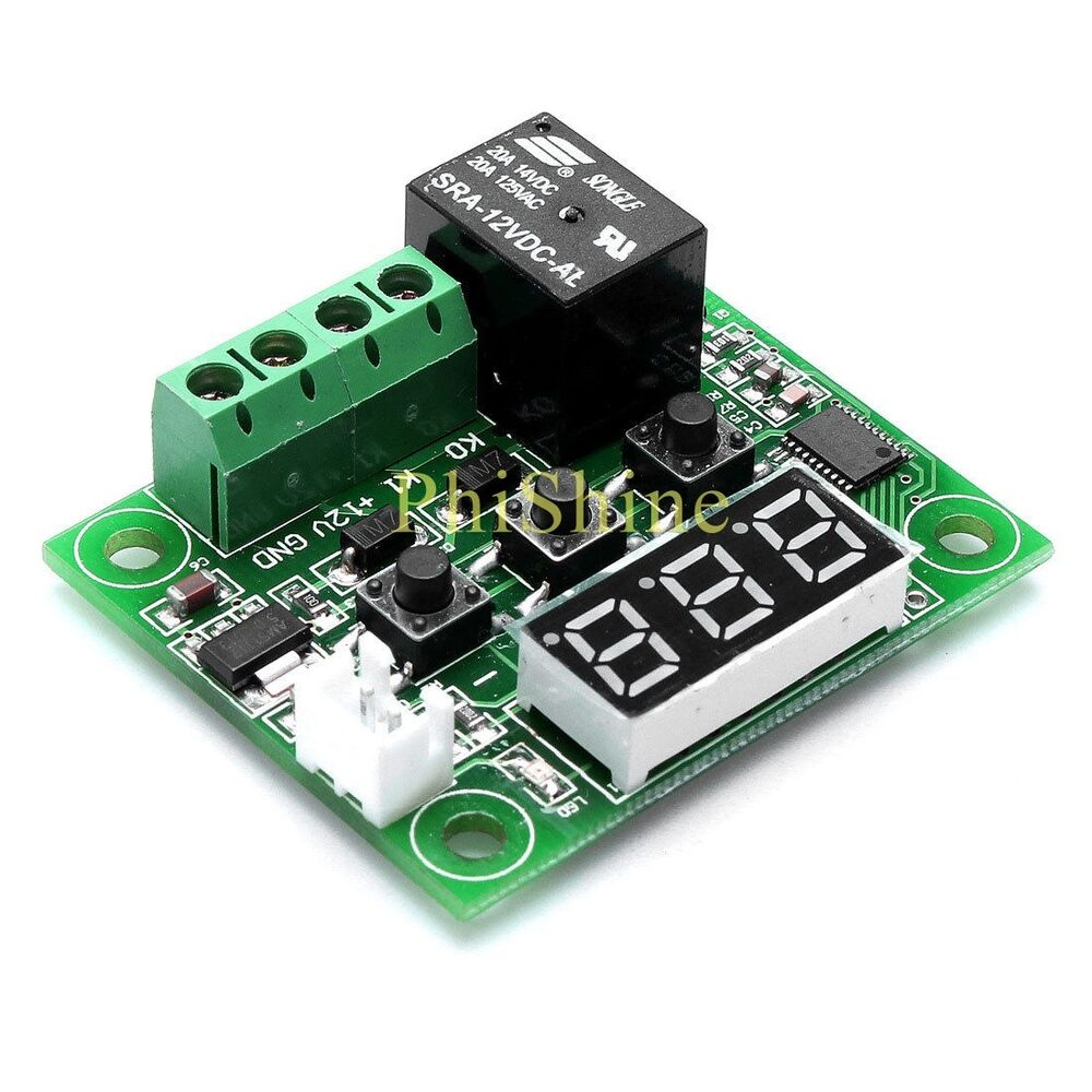 Dc12v W1209 Temperature Controller Control Switch