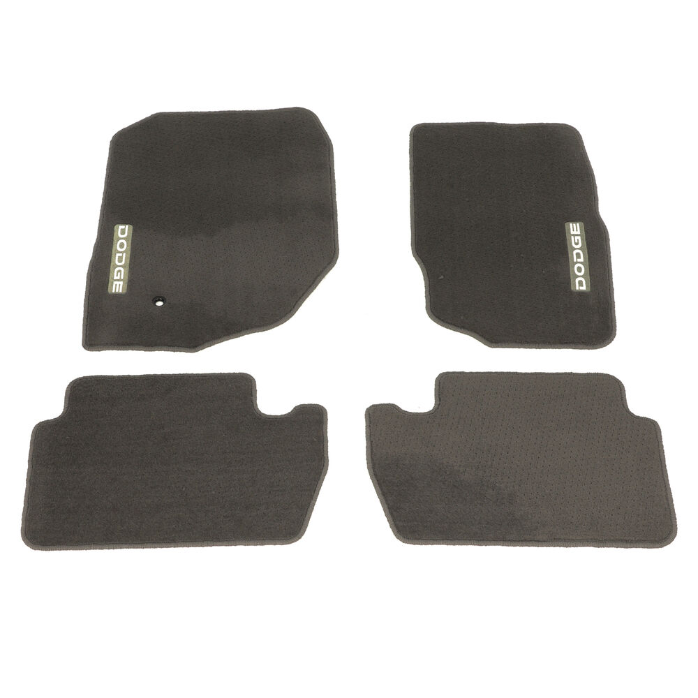 04 09 Dodge Durango Dark Khaki Carpet Floor Mats Front
