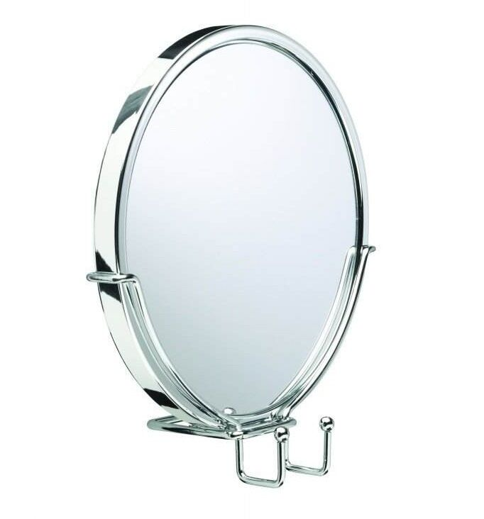 stick on bathroom mirrors croydex anti fog mirror stick n lock stand bathroom 20676