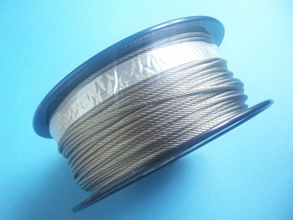 Ss Wire Rope : Type stainless steel wire rope cable quot