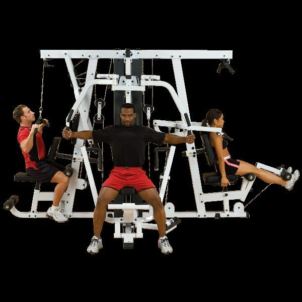 Exm3000lps Gym System: NEW BODY SOLID EXM4000S MULTI STATION COMMERCIAL WEIGHT