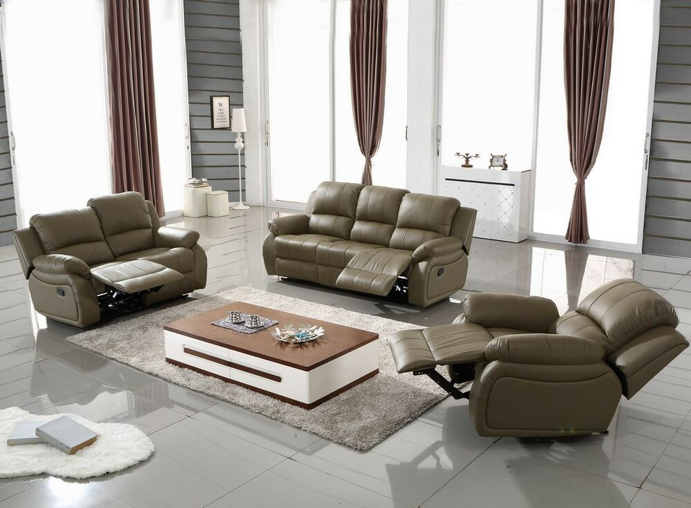 voll leder couch relaxsofa sofa relaxsessel fernseh sessel 5129 2 1 1106 sofort ebay. Black Bedroom Furniture Sets. Home Design Ideas
