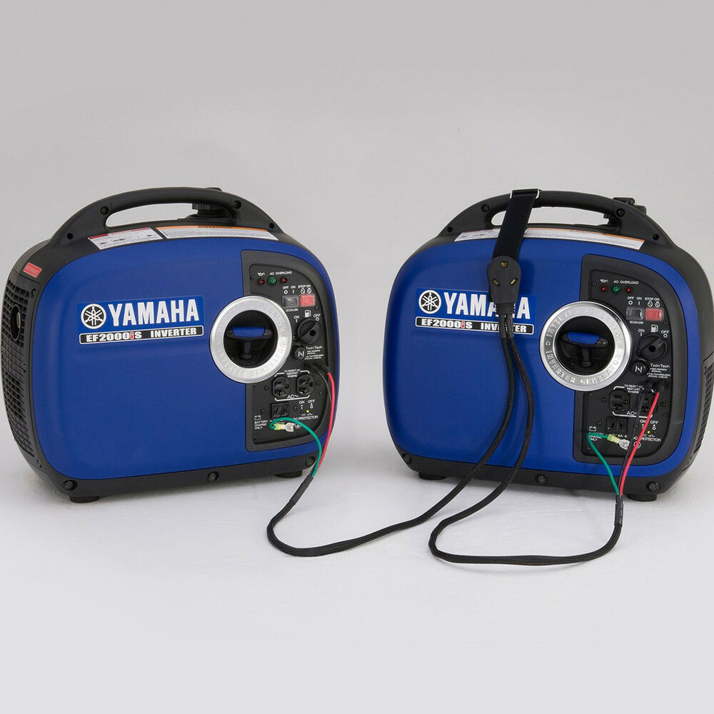 Yamaha sidewinder parallel power cable for ef2000is for Yamaha ef1000is inverter generator