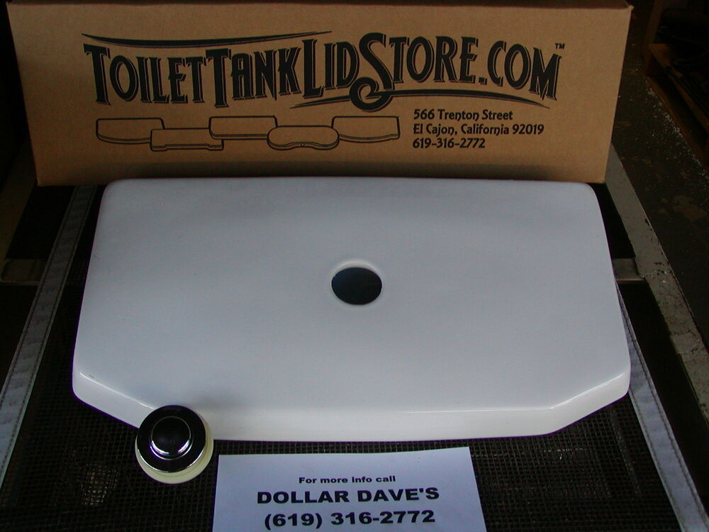 American Standard 4086 Toilet Tank Lid 735010 White With