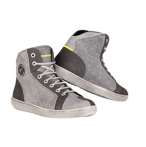 98c8b24118 Details about Stylmartin Sunset EVO Urban Motorcycle Boots - Grey