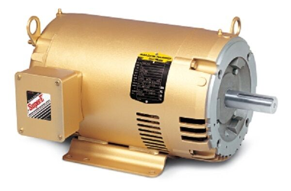Cem31107 1 2 hp 3450 rpm new baldor electric motor old for Half horsepower electric motor
