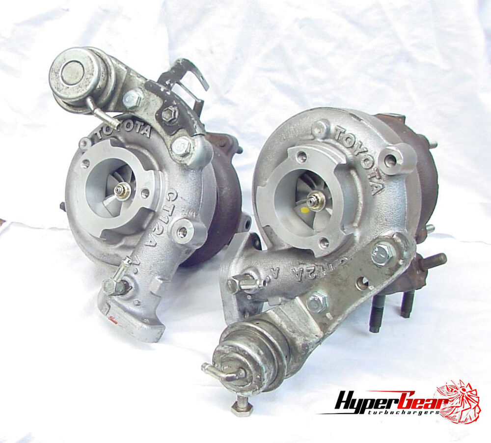Turbos: Toyota Soarer 1JZGTE CT12a Ct12 Turbochargers 500HP