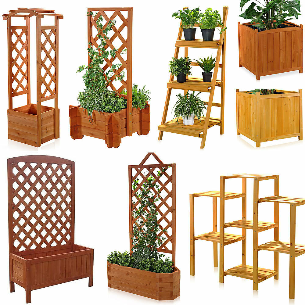 blumenkasten aus holz pflanzkasten gartenbank 2 in 1. Black Bedroom Furniture Sets. Home Design Ideas