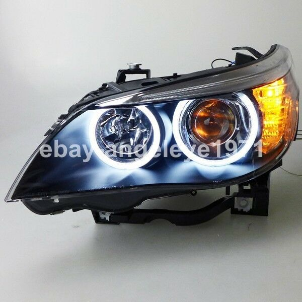 2003 2007 year for bmw e60 523i 525i 530i led headlights. Black Bedroom Furniture Sets. Home Design Ideas