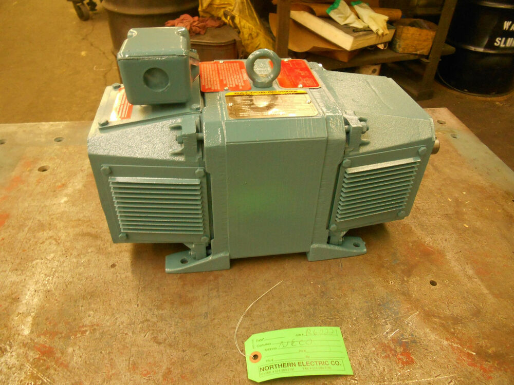 Baldor Reliance Dc Motor Cat Cdd1803r 3 Hp 1750 Rpm