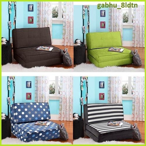 flip chair sofa sleeper guest bed recliner lounge futon teen kids bed