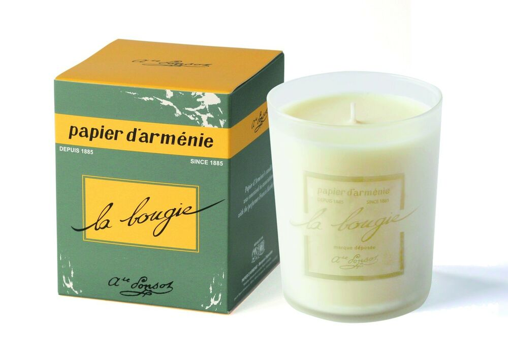 papier d 39 armenie le triple fragrance candle a francis kurkdjian collaboration ebay. Black Bedroom Furniture Sets. Home Design Ideas