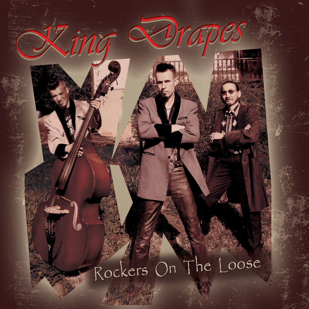 king drapes rockers on the loose cd new teddy boy. Black Bedroom Furniture Sets. Home Design Ideas