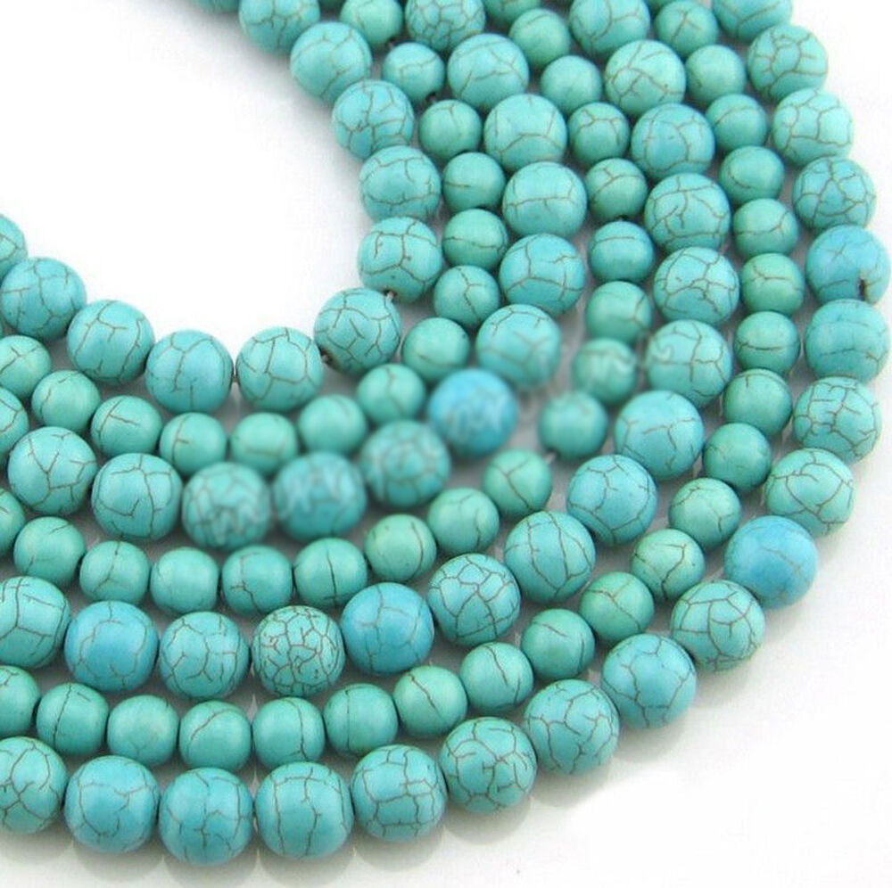 Natura Charm: Hot Real Natural 100% Turquoise Gemstone Spacer Loose