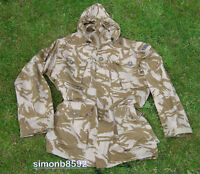BRITISH ARMY SURPLUS SG DESERT DPM SAS WINDPROOF COMBAT SMOCK WITH HOOD-SAS/PARA