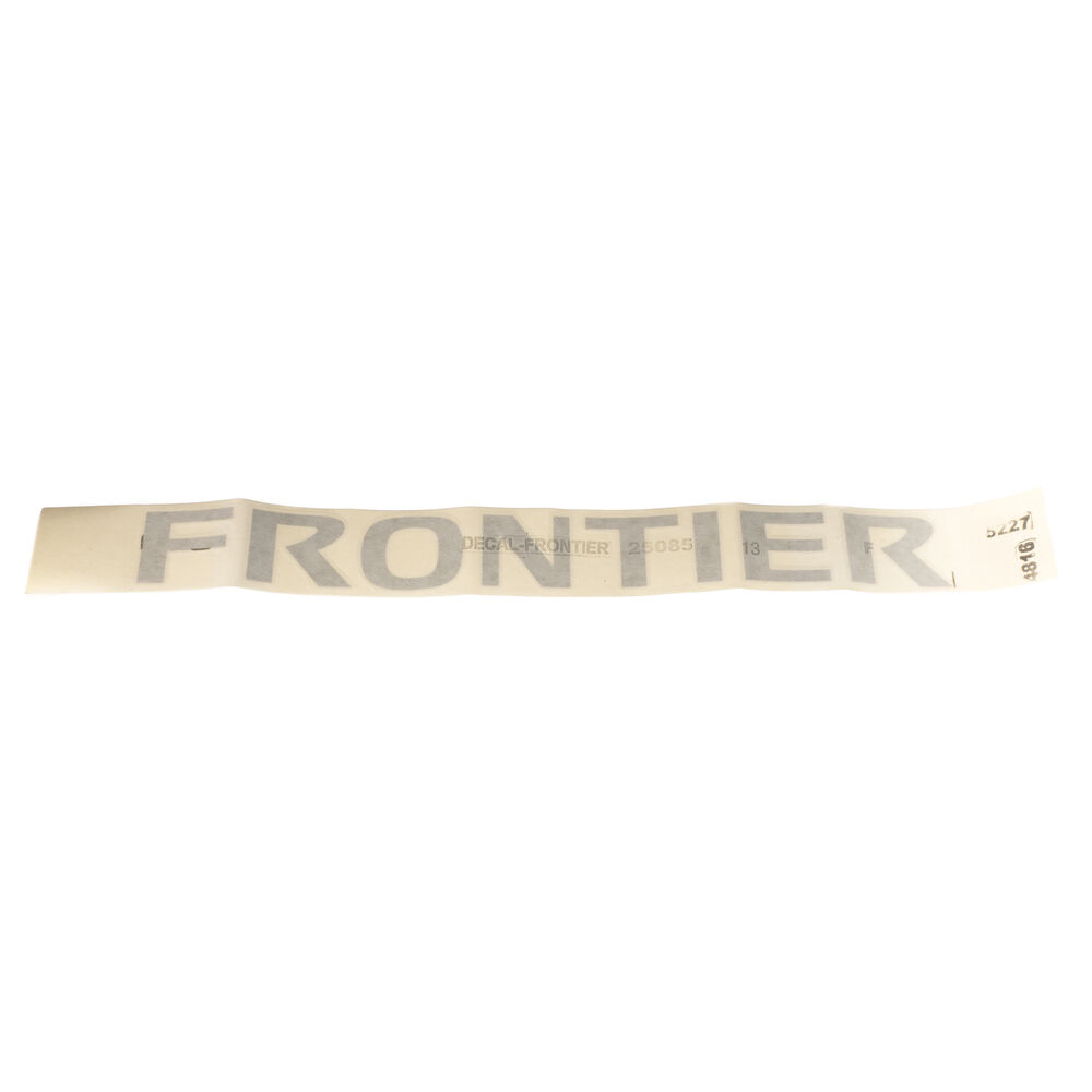 2005 2009 Nissan Frontier Roof Rack Side Rail Emblem Decal