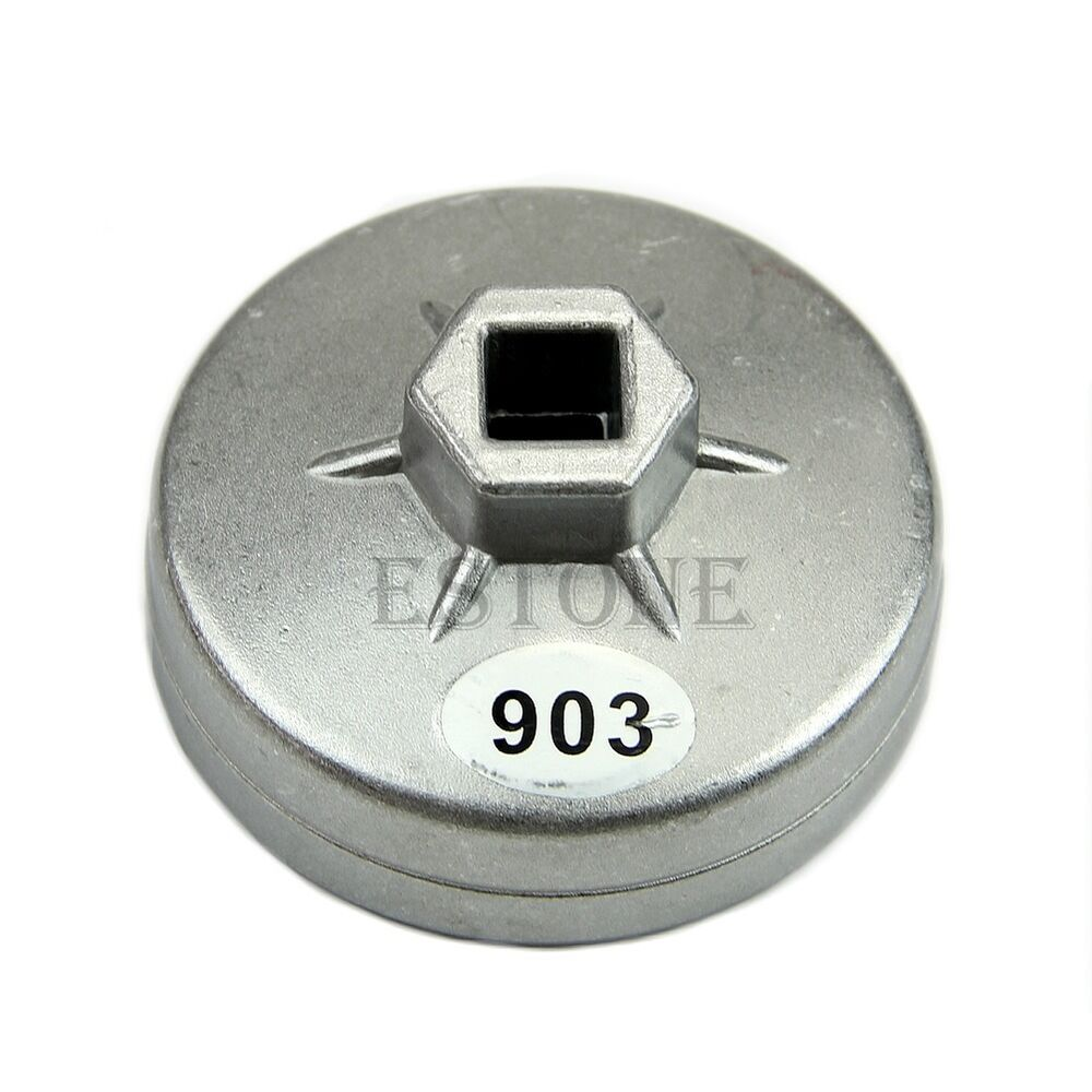 74mm 14 flute aluminum oil filter wrench socket remover for Mercedes benz oil filter cap wrench