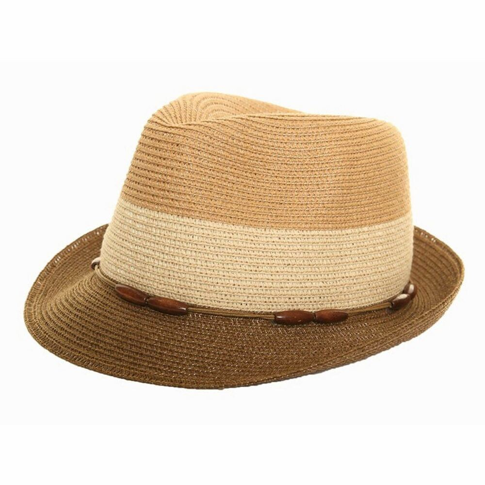 Summer hats are in style and can be seen all over town. It is not unusual to see a well dressed woman or man, walking down the street, wearing straw hats or light weight hats. Wide brims are normally favored during this time of year for comfort as well as fashion.