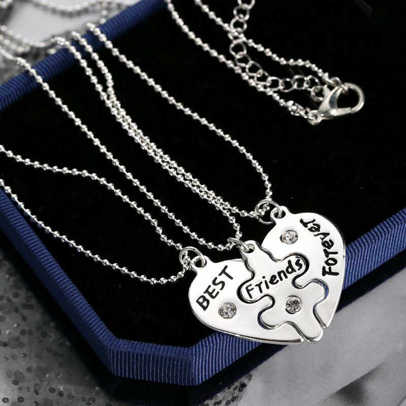 Amazoncom 4 best friend necklaces