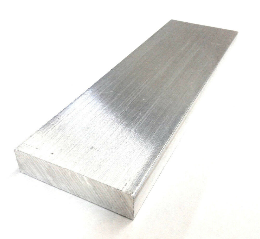Quot t aluminum solid flat bar new mill