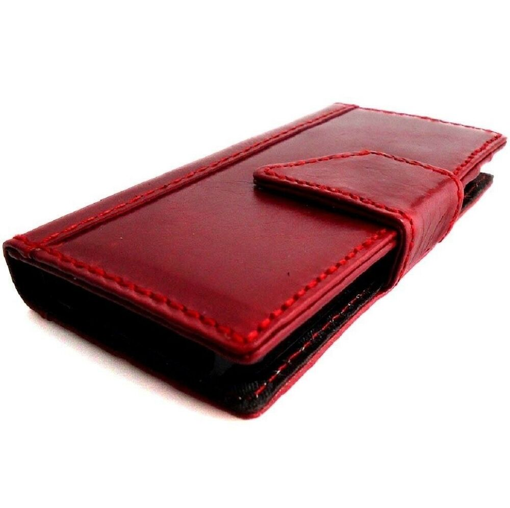 genuine leather case fit iphone 5 5s cover book wallet. Black Bedroom Furniture Sets. Home Design Ideas
