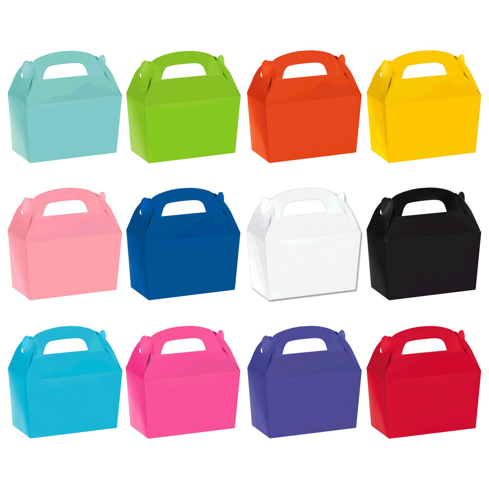 Children S Birthday Party Coloured Paper Food Lunch Loot