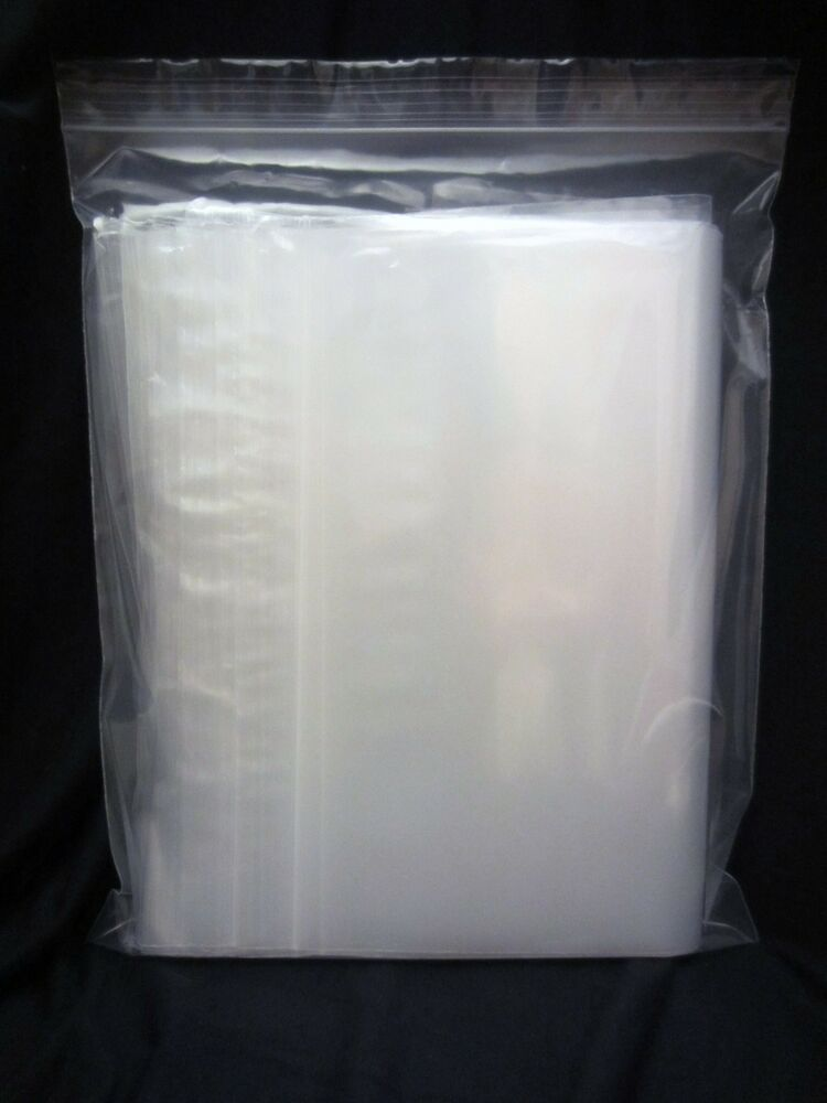 plastic bag 10 x 12 zip lock clear small poly 100 reclosable bags 4 mil ebay. Black Bedroom Furniture Sets. Home Design Ideas