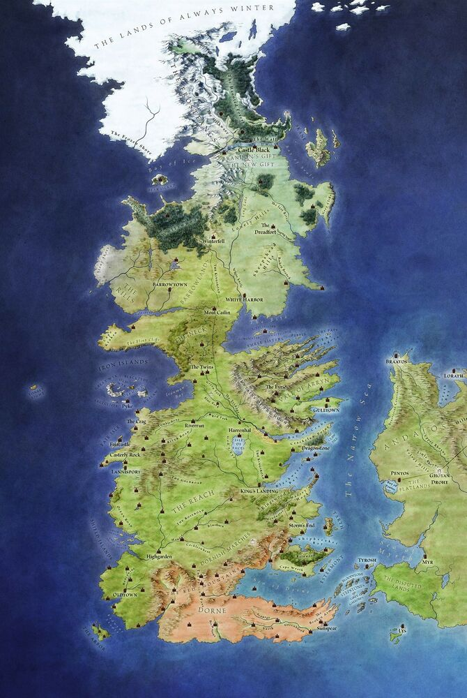 Game of Thrones Interactive Map: Are You Ready for Clash ...
