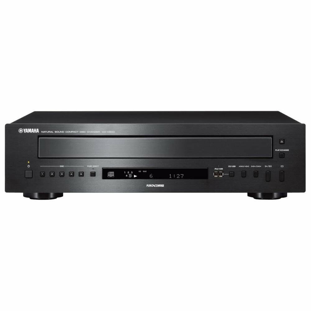 new yamaha cd c600 cd changer 5 disc home theater stereo