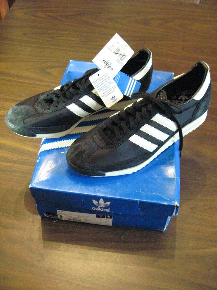 adidas originals sl 72 retro black training track shoes. Black Bedroom Furniture Sets. Home Design Ideas
