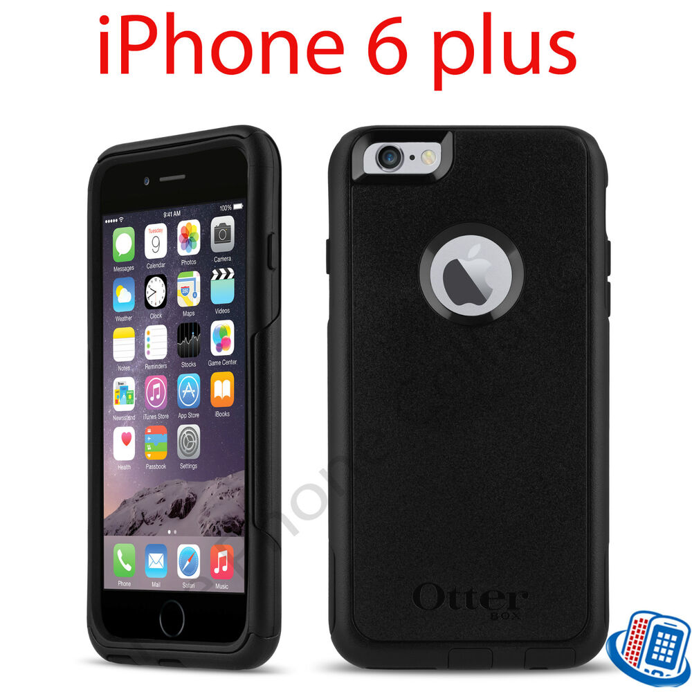 otterbox iphone 6 plus new oem otterbox commuter series black for apple 15821