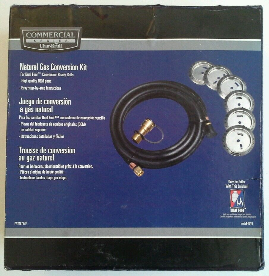 Natural Gas Conversion Kit For Charbroil Grill