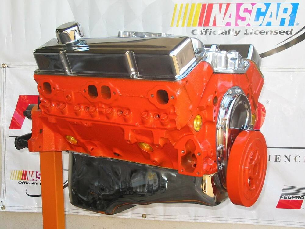 chevy 350 crate engine in complete engines ebay autos post. Black Bedroom Furniture Sets. Home Design Ideas