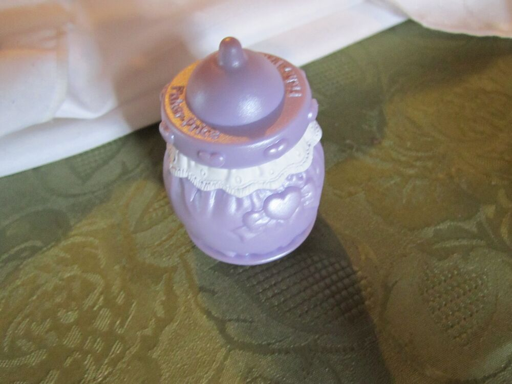 Fisher Price Fun With Food Purple Baby Bottle My Little
