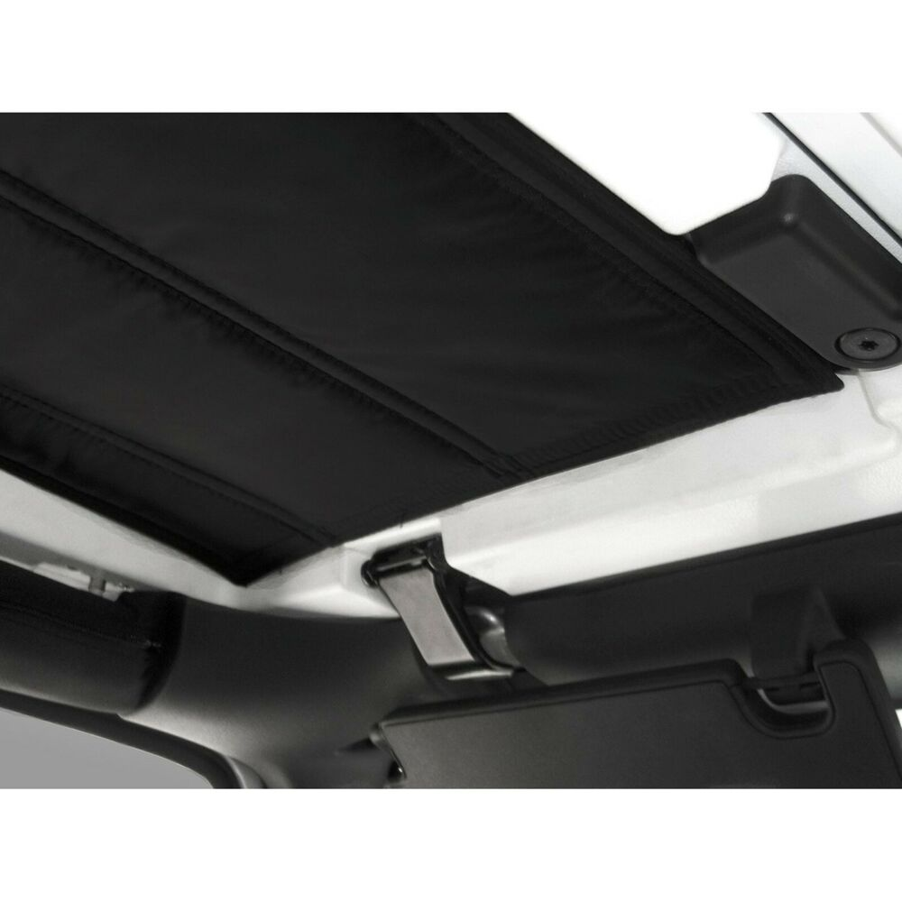 rugged ridge hard top insulation kit 2007 2010 2 door jeep jk wrangler ebay. Black Bedroom Furniture Sets. Home Design Ideas