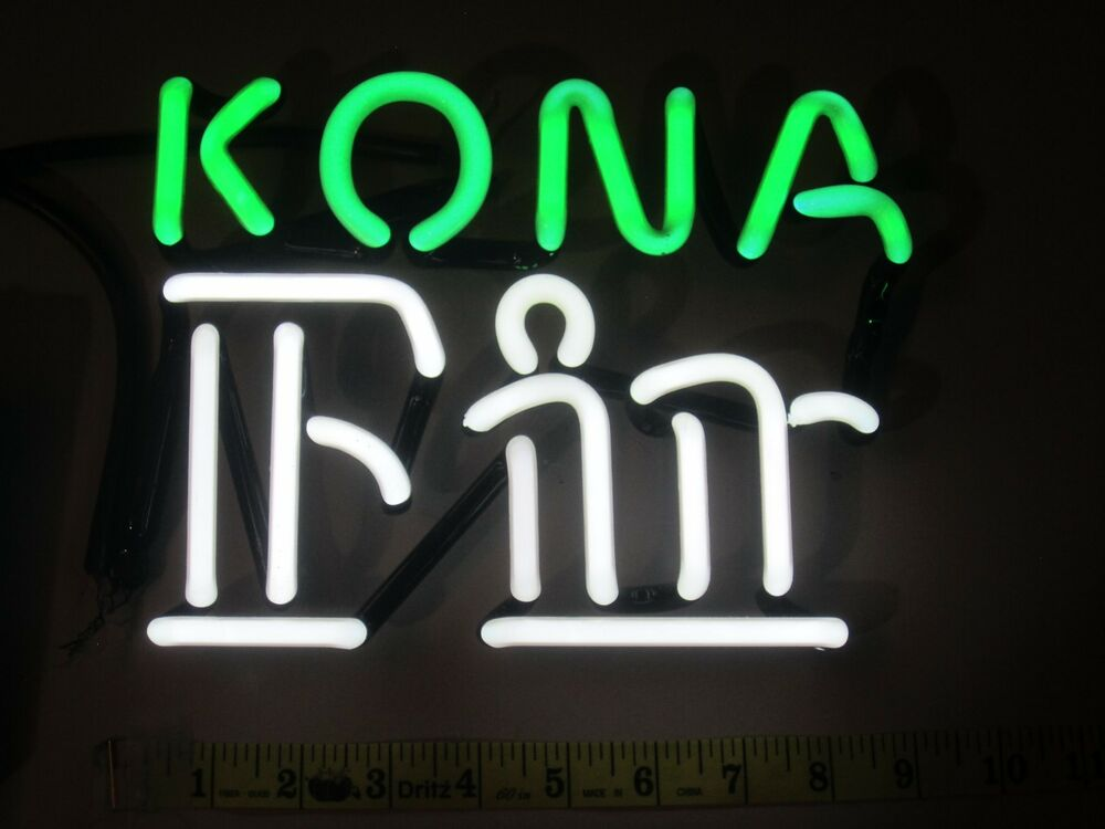 kona fire rock beer neon sign glass tubing replacement. Black Bedroom Furniture Sets. Home Design Ideas