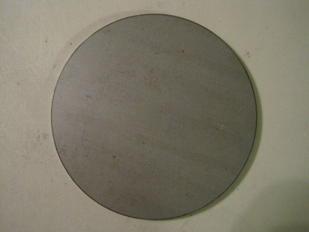 1 8 Quot Steel Plate Disc Shaped 6 00 Diameter 125 A36