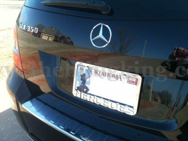 mercedes benz license plate frame chrome iced out swarovski crystals ebay