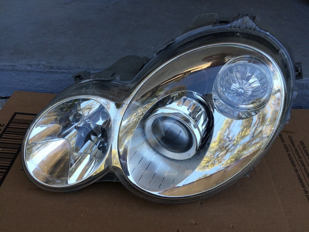 2002 2003 2004 2005 mercedes c230 c320 2dr coupe oem xenon hid headlight lh ebay