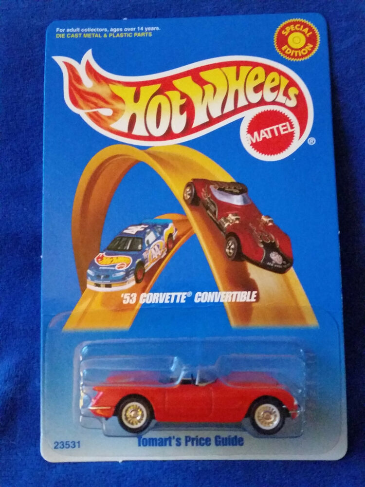 1998 HOT WHEELS \'53 CORVETTE CONVERTIBLE TOMART\'S PRICE GUIDE ...