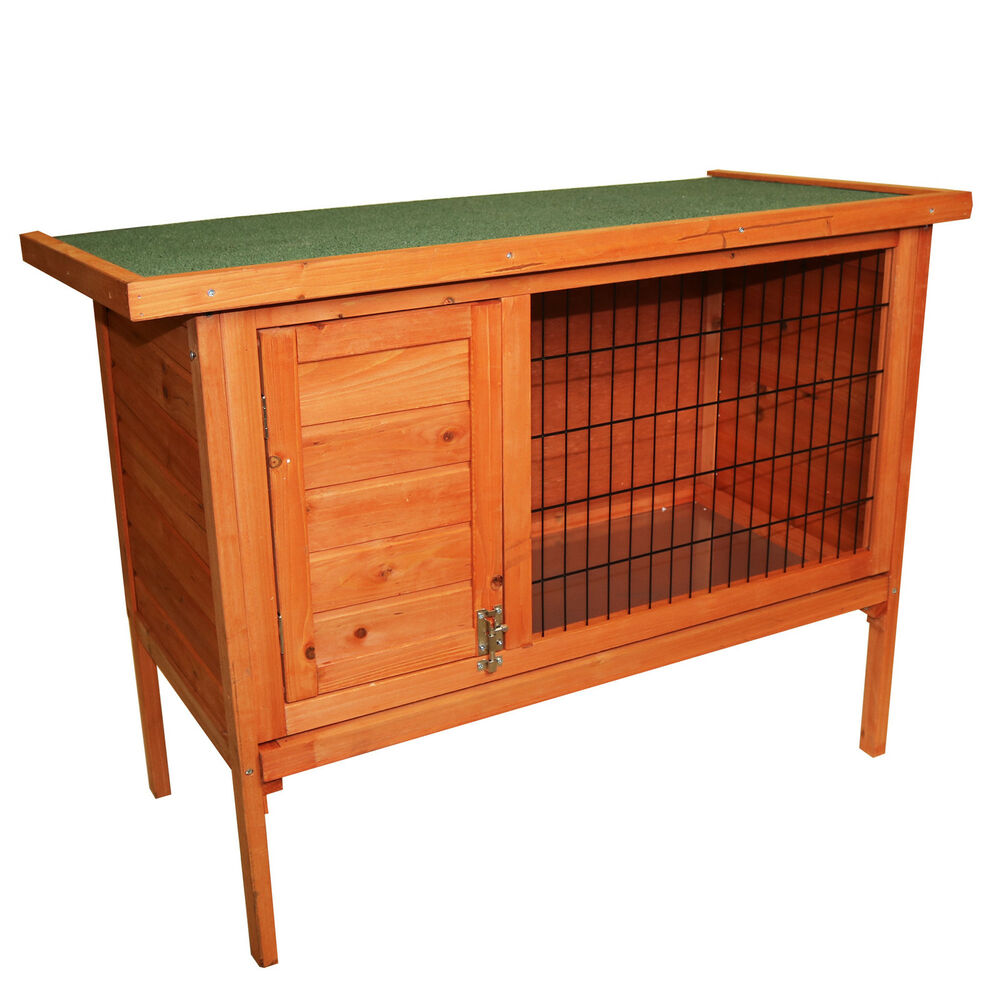how to clean a guinea pig hutch