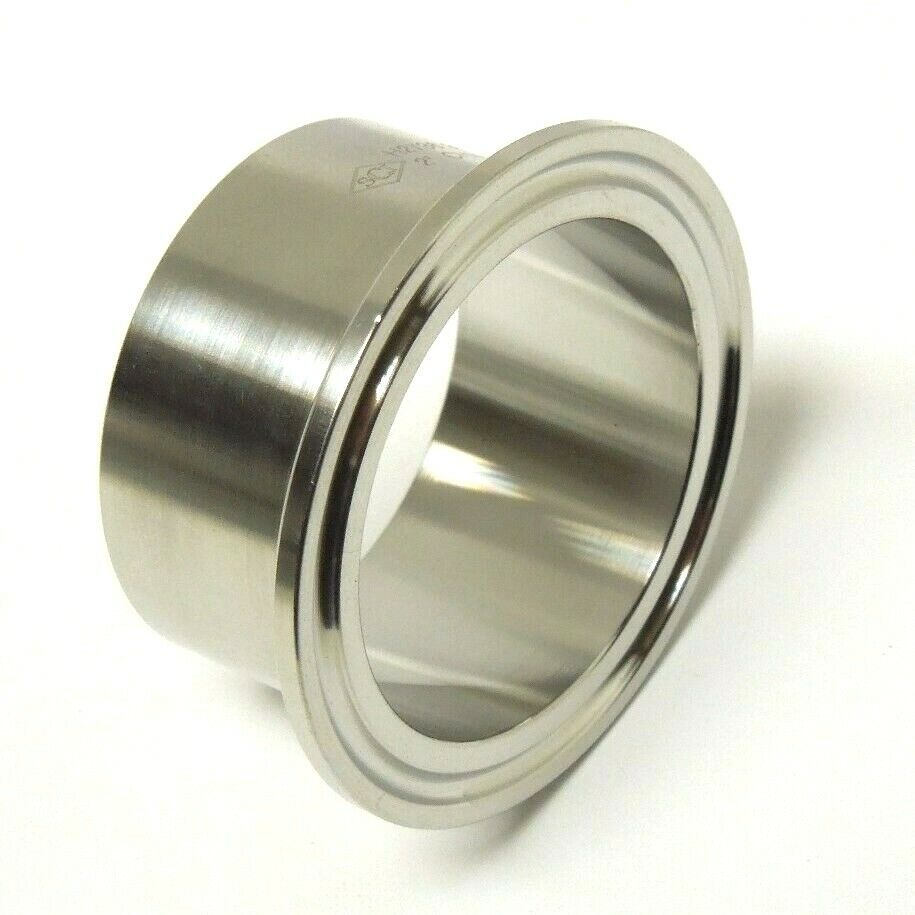 Sanitary ″ stainless long weld ferrule clamp end