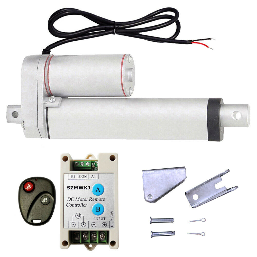 6 stroke heavy duty linear actuator w wireless control
