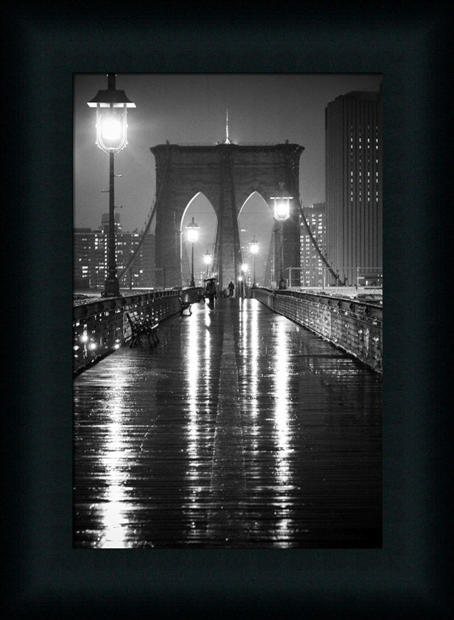 Brooklyn bridge black white photography framed art print for Brooklyn bridge black and white wall mural