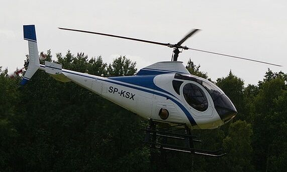 333 Schweizer Light Utility Helicopter Wood Model Replica Large Free ...