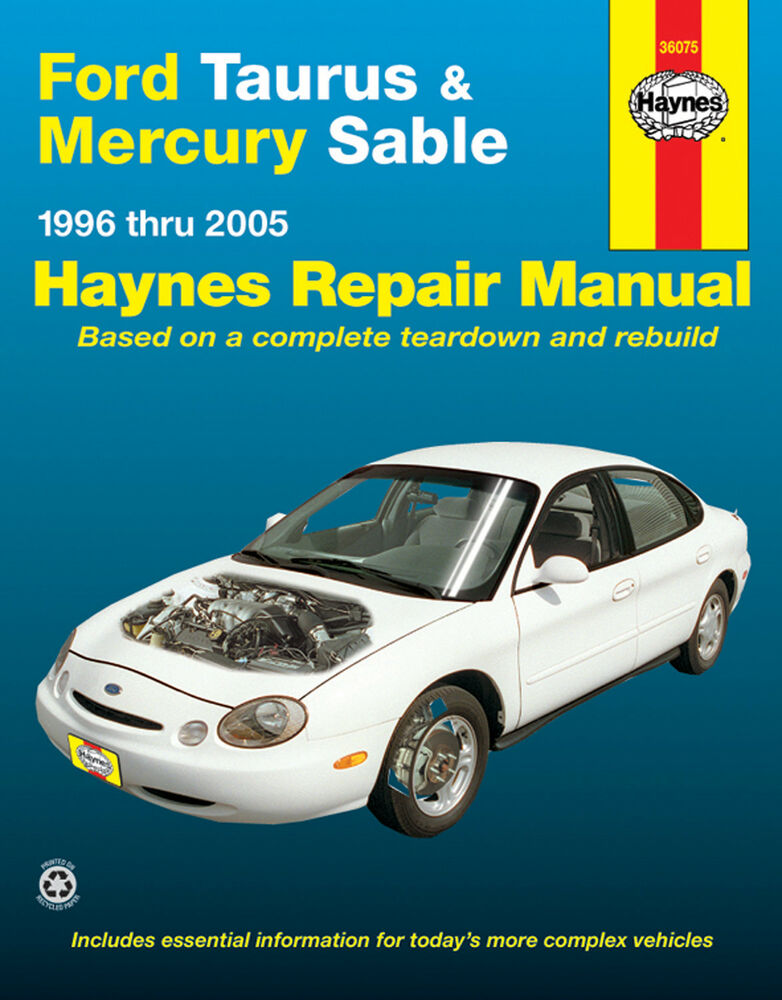 1996 Mercury Sable Owner s Manual (391 pages)