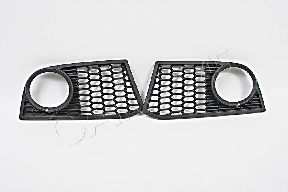 genuine fog light m package grills covers pair bmw 5